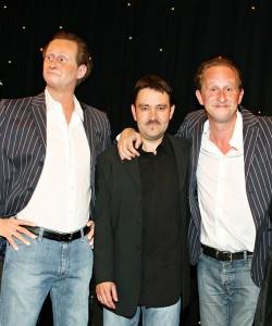 Benoit Poelvoorde et Stéphane Barret