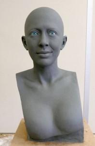 Nolwenn leroy modelage tête