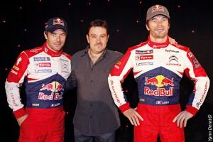 Sébastien Loeb son double et Stéphane Barret ok pour cite